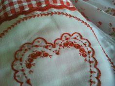 Plaid, Facebook, Tableware, Red, Mariana, Aprons, Pockets, Blue Prints, Gingham