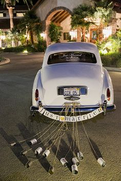 Vintage 1952 Rolls Royce   Photo from MIA & DORELL WEDDING collection by Scott Clark Photo Inc.