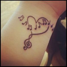 Music Note Tattoo Meanings And Ideas Music Note Tattoos - Beauty Benefits Of Love - Tattoo Ideas Top Picks