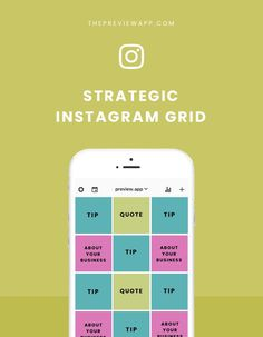 5 ways to use your Instagram Grid strategically. This is for you if you want to grow your Instagram account intentionally #instagramtips #socialmedia #business