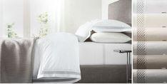 Luxury Bedding Sets For Less Info: 8678406861 Ivory Bedding, Cotton Bedding, White Bedding, Linen Company, Where To Buy Bedding, Velvet Bed, Bedding Websites, Luxury Bedding Collections, Bedding Sets Online