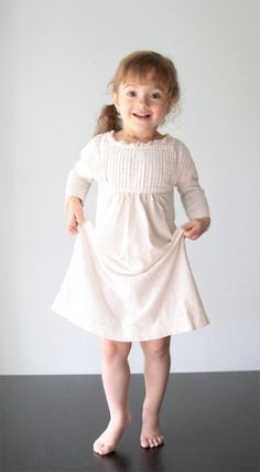 Turn an old shirt into a fun night gown for your little girl with an easy tutorial.