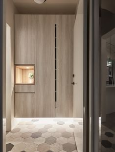 Jiang House by Life Creator Design Shoe Cabinet Design, Design Hall, Built In Vanity, Floating Cabinets, Small Hallways, Interior Inspiration, Tall Cabinet Storage, Furniture Design, House Design