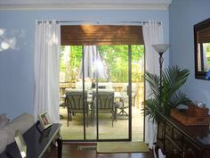 Ideas for sliding glass door curtains sliders window coverings