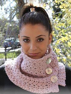 crochet pattern - galaxica neckwarmer
