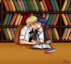 Find images and videos about ladybug, Chat Noir and marinette on We Heart It - the app to get lost in what you love. Miraculous Ladybug Kiss, Miraculous Ladybug Fanfiction, Meraculous Ladybug, Ladybug Comics, Ladybugs, Marinette Ladybug, Ladybug Und Cat Noir, Marinette Et Adrien, Catty Noir