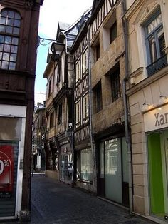Rouen....Joan of Arc died here, we were there in 2010!