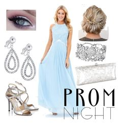 """""""Share This Elegance/ light blue"""" by k-oden ❤ liked on Polyvore featuring J. Furmani"""
