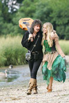 Ritchie Blackmore & wife Candice Night - Blackmore's Night