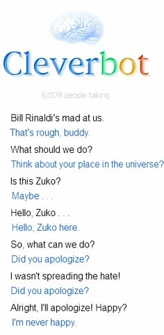 Oh my gosh this is so awesome O.O I wanna talk to Zuko, too!