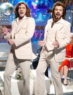 "Justin Timberlake & Jimmy Fallon Saturday Night Live ""The Barry Gibb Talk Show"" Saturday Night Live, Jessica Biel, Jimmy Fallon Justin Timberlake, Best Of Snl, Snl Skits, Emission Tv, Tennessee, Plus Tv, Hip Hop"