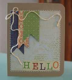 September Card Challenge - Color - Scrapbook.com