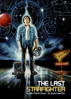The Last Starfighter 1984 Poster Childhood Movies, 80s Movies, Great Movies, The Last Starfighter, Classic Sci Fi Movies, 1984 Movie, Sci Fi Films, Movie Poster Art, Vintage Movies