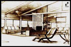 Modern interior made in DOMIN Radom drawing school / Wnętrze nowoczesne wykonane w szkole rysunku DOMIN Radom https://www.facebook.com/DominRadom