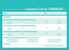 Would you like some professional feedback about your friendship performance? The new book Comment Cards for Life by Derek McCloud is here to help. [via neatorama] Previously: I Added Some Wine Recommendations to the Liquor Store by My House Dating Apps, Dating Memes, Dating Quotes, Marriage Advice, Dating Advice, Comedy Festival, Lifetime Movies, Personal Relationship, Best Phone