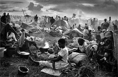 "Sebastiao Salgado, photographer of ""Migrations"" ~A beautiful moment captured during hardship~"