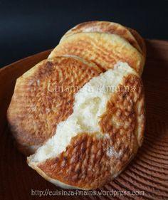 Khobz Ettajine à la farine très léger | Cuisine à 4 mains