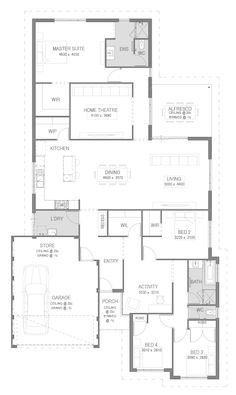 The Montero Floorplan by GO Homes