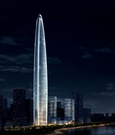 Wuhan Greenland Center by Adrian Smith and Gordan Gill Architecture
