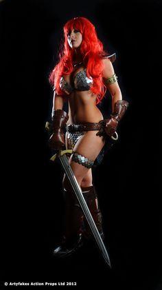 Tabitha Lyons as Red Sonja