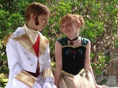 Hans and Anna Frozen costumes Anna Frozen Costume, Hans Frozen, Cosplay, Halloween Costumes, Inspiration, Disney, Style, Biblical Inspiration, Swag