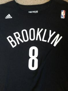 ad0a6e40c Details about Deron Williams #8 Brooklyn Nets D Will Black Adidas Jersey  Size Mens XL NBA