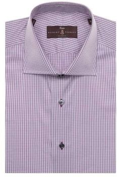Robert Talbott Tailored Fit Check Dress Shirt Mens Big And Tall Shirts, Mother Of Pearl Buttons, Nordstrom, Check Dress, Shirt Dress, Fitness, Mens Tops, Fashion, Moda