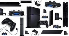 Sony Playstation 4 is the successor of PS it features an optical unit (Blu-Ray and DVD) and allows offline playing as well as games swapping. Ps4, Playstation, Sony Electronics, More Games, Old Video, Gaming Setup, Tech Gadgets, Video Game Console, Nintendo Wii