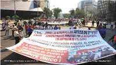 """MEXICO: La CNTE no es """"lamebotas"""", por eso sitiaron el Zócalo por varios miles de milicos"""