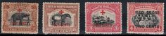 North Borneo Red Cross Stamps.