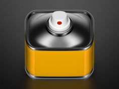 Spraycan icon #icon #dribbble (via pinterest Aditya Putra <artist?>)