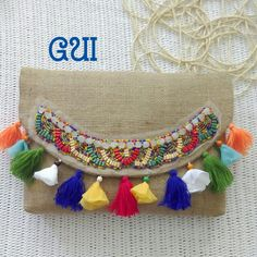 Çuval kumaştan etnik ... Gui tasarım. Tassels, Bags, Jewelry, Fashion, Tassel Necklace, Handbags, Jewellery Making, Moda, Totes