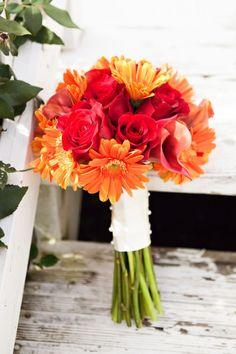 Paleta de cores para casamento: Laranja, vermelho e amarelo