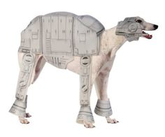 Amazon.com: Rubies Costume Star Wars At-At Pet Costume, Large: Pet Supplies