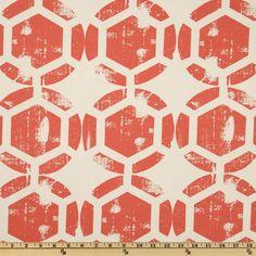 Ty Pennington Home Decor Impressions Honeycomb Spice $10.49yd