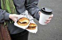 Waffle food cart -- Flavour. Portland, OR