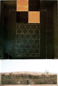 Robert Solomon, vitrerie91. assemblage / collage, painting, 2010