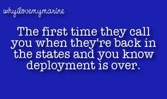 I remember the first deployment and getting that call,  can't wait for the 2nd call!!