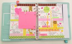Colourful Creations#Filofax#Planner #Kikki-K#Stationery#Washi Tape