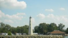 Lighthouse at Grand St. Mary's Lake in Celina, Ohio