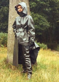 Heavy Rubber, Black Rubber, Latex Costumes, Rubber Raincoats, Pvc Coat, Rain Gear, Hooded Raincoat, Vinyl, Rain Coats
