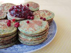 Vihreät ohukaiset – Green Pancakes