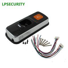 LPSECURITY autonome RFID lecteur de contrôle d'accès d'empreinte digitale unique biométrique d'empreintes digitales access controller porte SERRURE ouvre