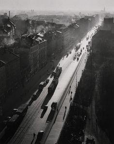 Peter Keetman  Street Scene, Probably in Munich, 1954