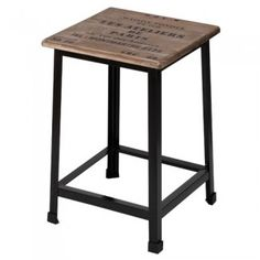 Utilisé en table d'appoint - Tabouret vintage loft - La Chaise Longue