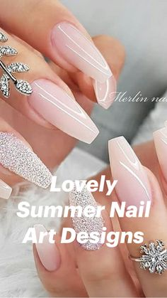 Nature Ombre Nails - Thinking of make Ombre nail art? Then you've come at the right place! Here, we collected best Ombre nail designs ideas, to inspire your next nails design. Acrylic Nails Coffin Short, Fall Acrylic Nails, Coffin Nails Ombre, Acrylic Nails Glitter Ombre, Light Pink Acrylic Nails, Classy Acrylic Nails, Colored Acrylic Nails, Wedding Acrylic Nails, Fall Nails