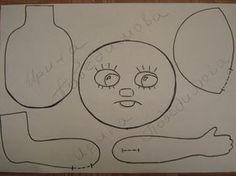 Интерьерные куклы Кузнецовой Евгении: Мастер-класс и выкройка игрушки Домовенок Кузя