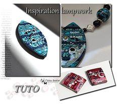 Tuto : Inspiration lampwork - Fimo féérie