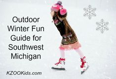 Your Kalamazoo Winter Bucket List + Sled, Ski, Skate, Tubing and More Outdoor Fun Ice Skiing, Outdoor Rink, Kalamazoo Michigan, Programming For Kids, Christmas Mom, Cross Country Skiing, Winter Fun, Sled