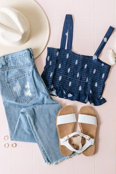 Trendy & affordable women's boutique shopping at The Copper Closet. Teen Fashion Outfits, Basic Outfits, Fashion Wear, Boho Outfits, Spring Outfits, Cute Outfits, Womens Fashion, Ladies Boutique, Boutique Clothing